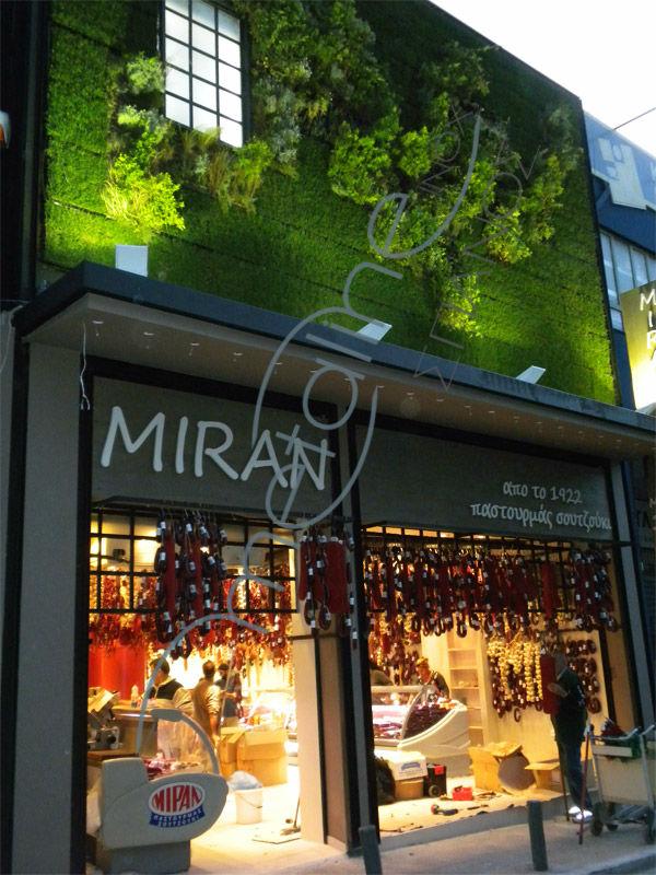 MIRAN (Pasturma-Sujuk) - Κάθετος κήπος